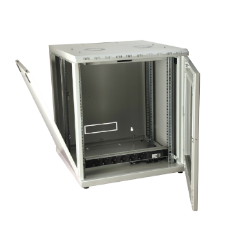 WALL MOUNT RACK CABINET, hinged wall mounted cabinet, wall mount data cabinet