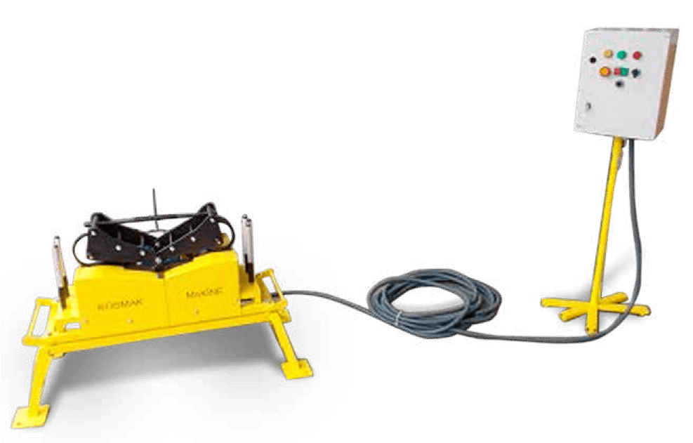 cable pushing machine